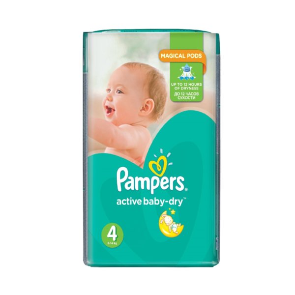 Pampers Памперс SP Макси р-р 4  /8-14 кг./ 13 бр.  0202304